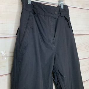 POWDER ROOM Black Snow and Cold Weather Pants